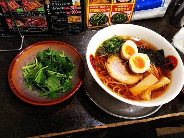 「味玉醤油ラーメン」@光麺 原宿店の写真