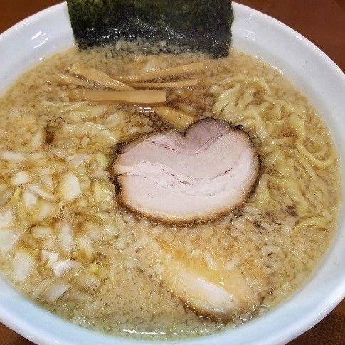 「背脂煮干ラーメン ¥780」@麺処いろ葉の写真