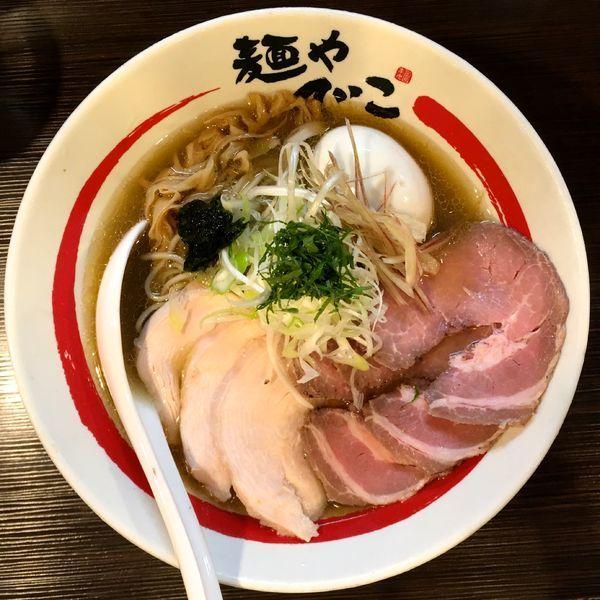 「[限定]特製和風冷やしらーめん+〆のお茶漬け」@麺や でこの写真