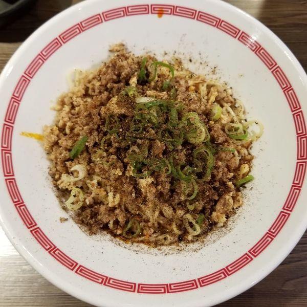 「汁なし担々麺」@らあめん 広の写真