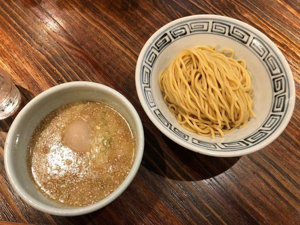 「しおつけ麺」@らーめん 山頭火 越谷イオンレイクタウン店の写真