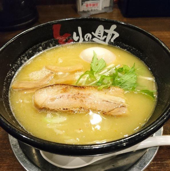 「味玉濃厚鶏そば」@とりの助 上里店の写真