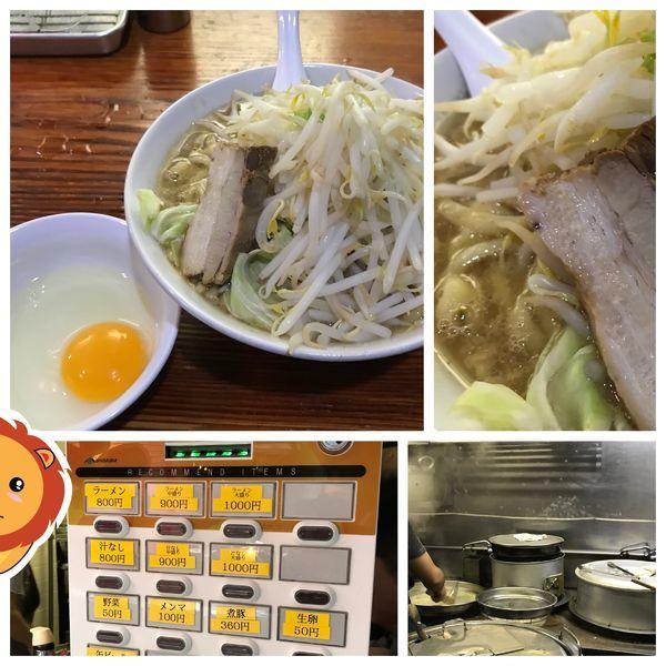 「ラーメン 生卵 800+50円」@ら・けいこの写真