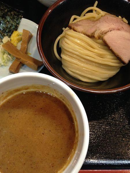 「つけ麺(250g)780円」@濃厚宗田つけめん 麺屋縁道の写真