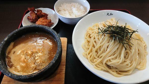 「丸和つけ麺@830円」@つけ麺 丸和 弥富店の写真