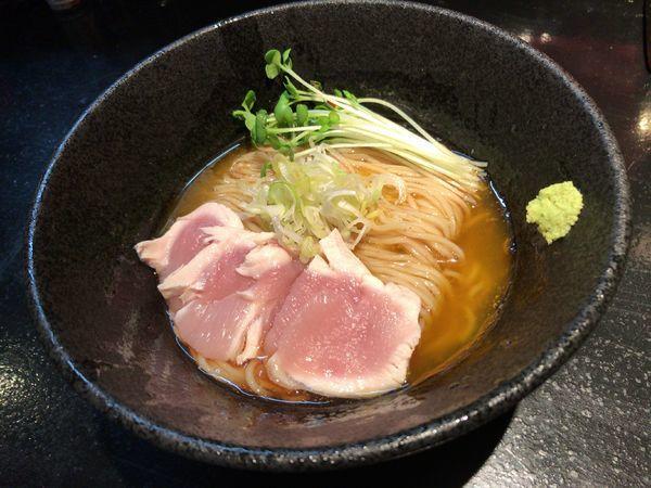 「【限定】地鶏の冷やし蕎麦」@麺s慶の写真