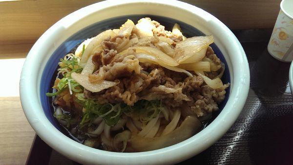 「牛山盛りうどん、得、冷」@丸亀製麺 イオン相模原店の写真