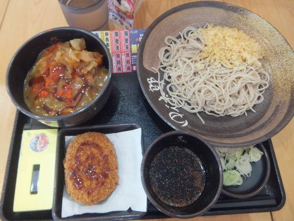 「朝そば(カレー)360円・クーポンでコロッケ70円が無料」@ゆで太郎 掛川店の写真