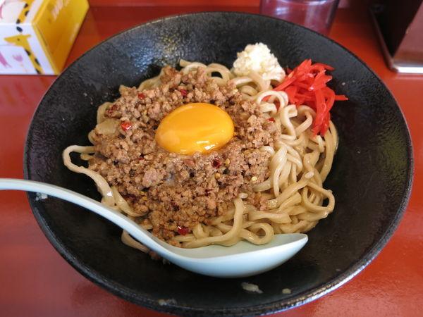 「マシライス(麺変更):750円」@立川マシマシ 5号店(神保町店)の写真