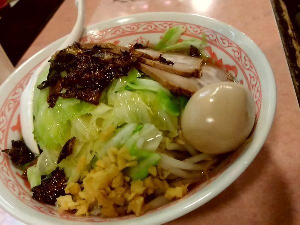 「特製キャベふじ麺(中盛・250g)1,030円」@特級豚骨 中華そば湊生の写真