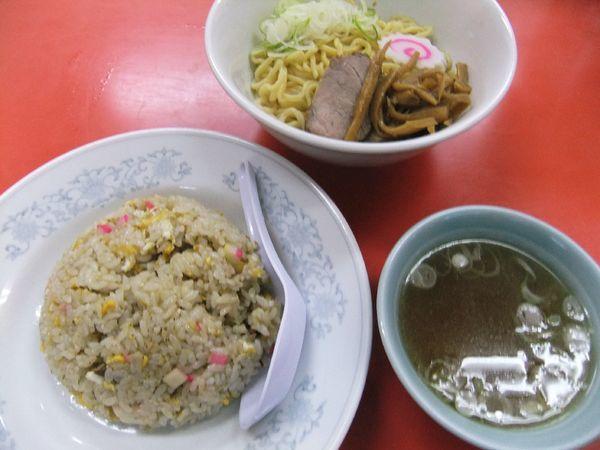 「油そば・チャーハンセット(1,000円)」@中華料理 庄屋の写真