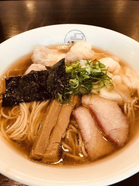 「特製ワンタン麺 ミックス ¥1000」@八雲の写真