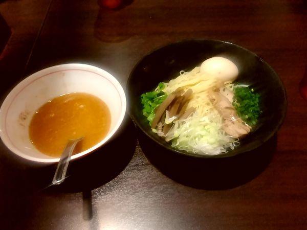 「味玉鶏白湯つけ麺(大盛・220g)980円」@らーめんや なかじゅう亭 高崎オーパ店の写真
