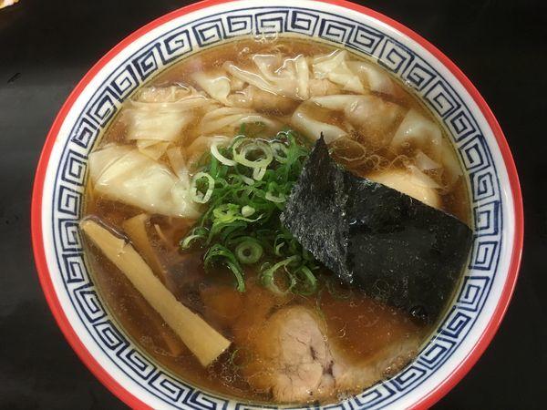 「ワンタンメン1130円、味付け玉子150円」@麺処 ら塾の写真