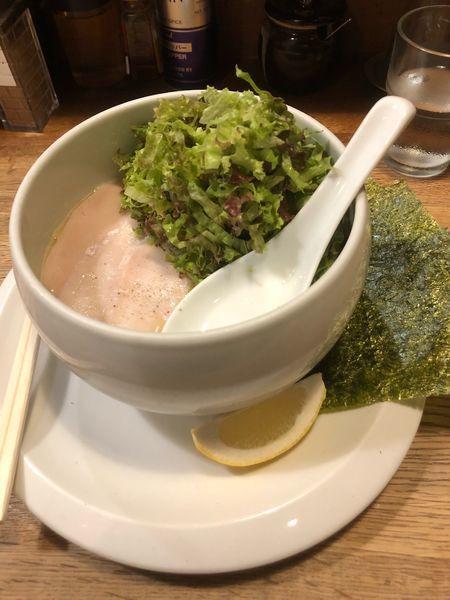「鶏白湯塩らーめん」@麺屋時茂の写真