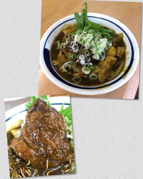 「揚げ蕎麦ぶっかけカレー南蛮C ¥1500」@MENYA 食い味の道有楽の写真