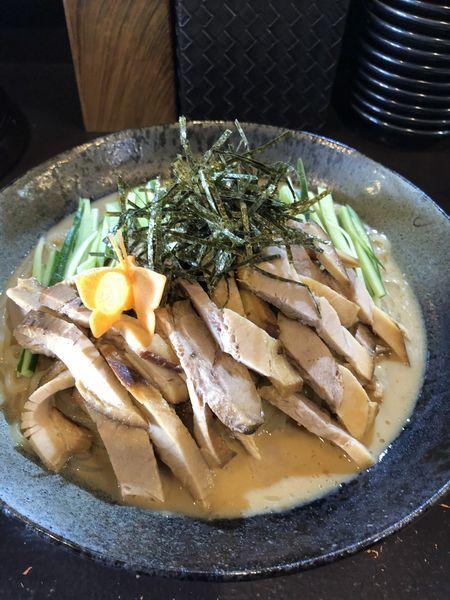 「焼豚冷麺」@やきめし屋 植竹の写真