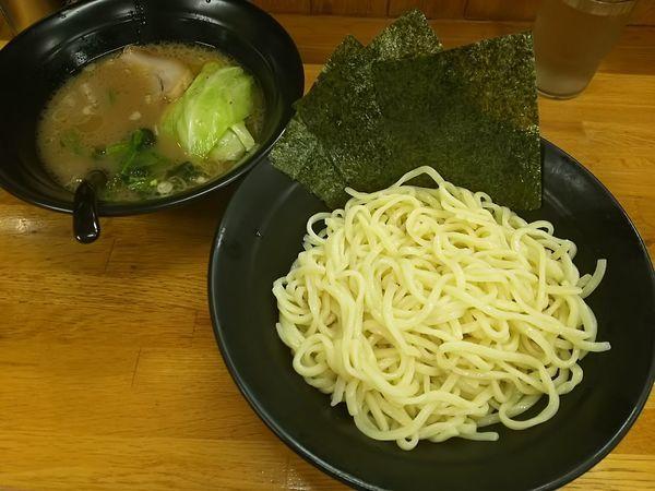 「つけ麺 中」@萬年家の写真
