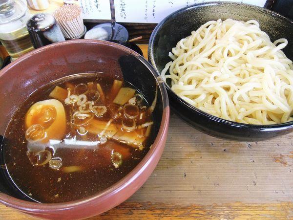 「醤油つけ麺(冷やし汁)(850円)」@竹屋 新秋津店の写真