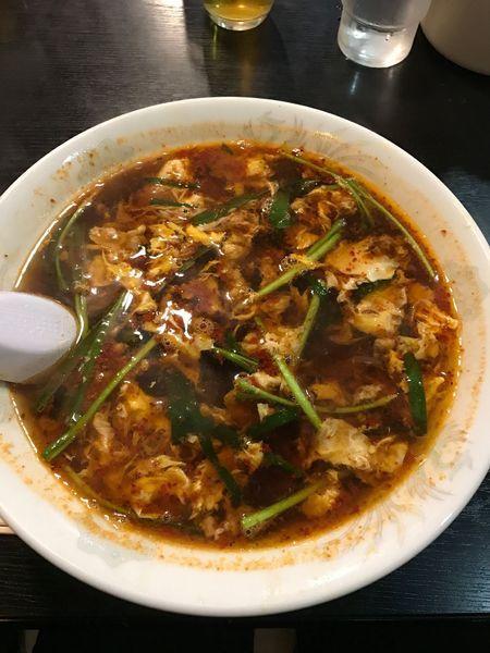 「中辛(3辛) こんにゃく麺」@辛麺屋桝元 中央通店の写真