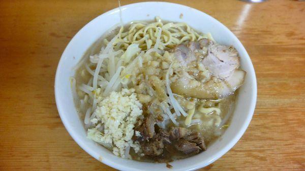 「ラーメン 麺300g¥800/にんにく¥0」@ラーメン もみじ屋の写真