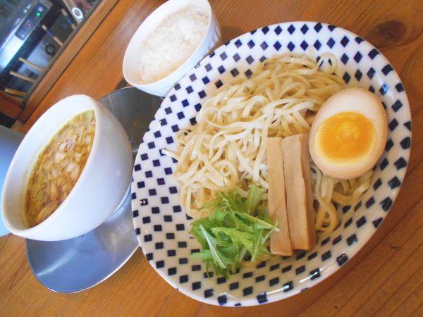 「カリーつけ麺」@らぁ麺 めん奏心の写真