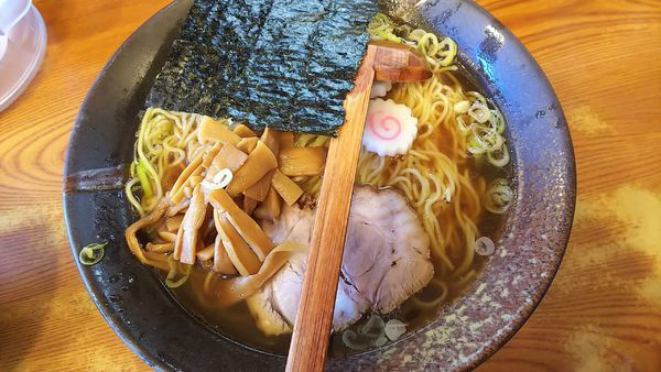 「伊勢あさくさ海苔ラーメン 760円」@川出拉麺店の写真