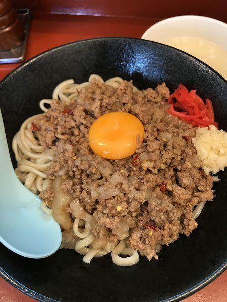 「マシライス、麺に変更」@立川マシマシ 5号店(神保町店)の写真