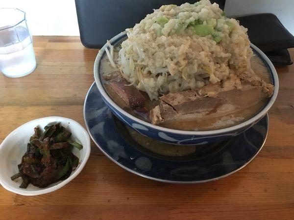 「濃厚ごってりラーメン」@麺屋 たかの写真
