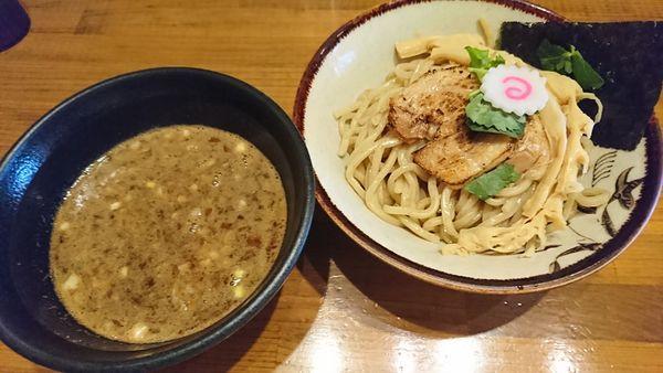 「濃厚魚介つけ麺(800円)」@馳走麺 狸穴の写真