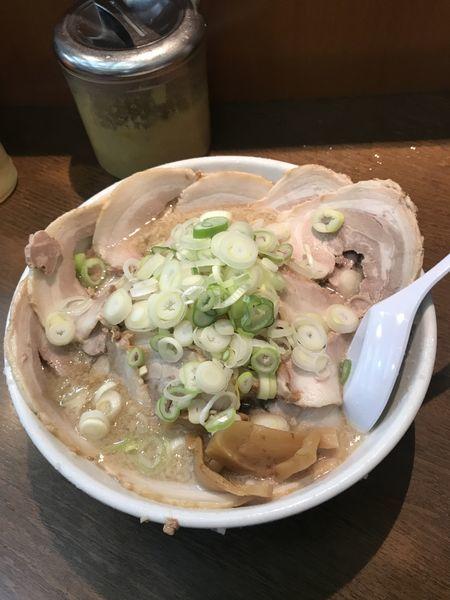 「味噌チャーシューW」@らーめん弁慶 門前仲町店の写真