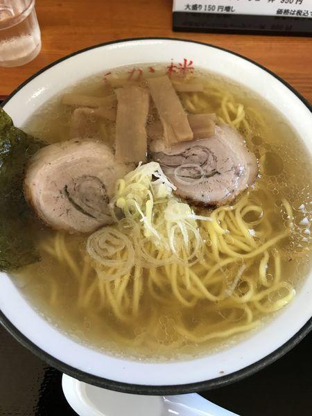 「らあめん+大盛り(¥740+¥150)」@麺匠 よか楼 熊谷店の写真
