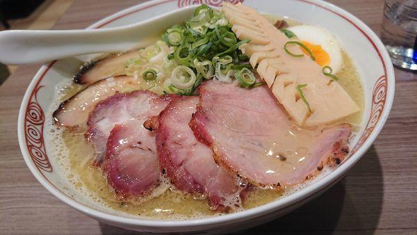 「鶏白湯(白)」@麺者 雄の写真