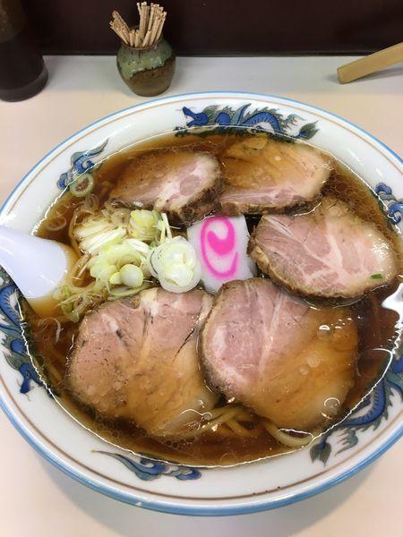 「チャーシューメン 950円」@田中食堂の写真