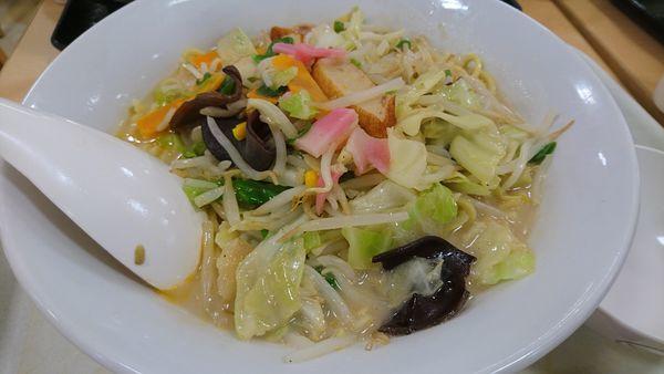 「長崎ちゃんぽん 麺2倍」@長崎ちゃんぽん リンガーハット 島忠ホームズ 仙川店の写真