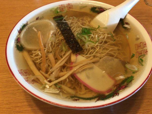 「中華そば」@丸竹食堂の写真