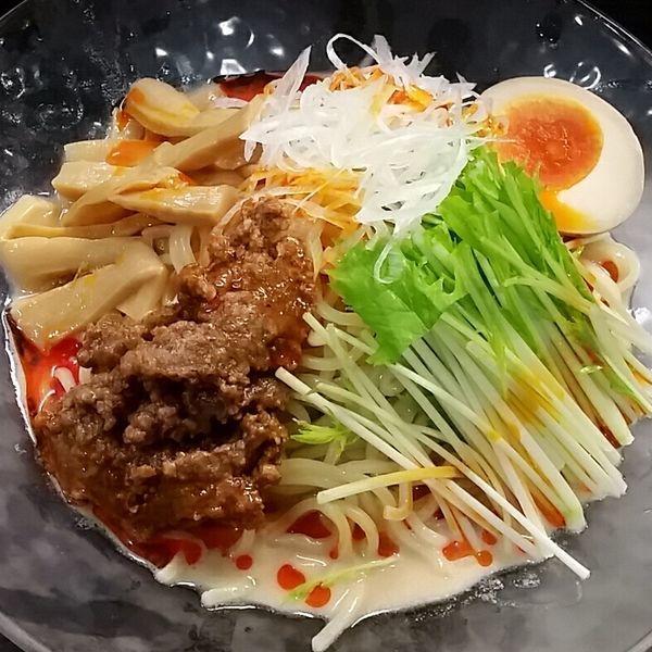 「【夏季限定】冷やし坦々麺 850円」@麺屋 縁 YUKARIの写真