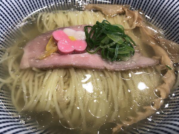 「鯛塩らぁ麺 800円」@鯛塩そば 灯花 ラゾーナ川崎プラザ店の写真