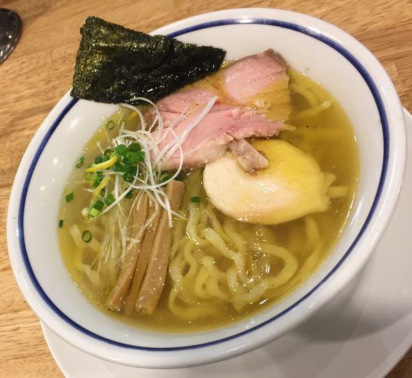 「中華そば(塩)750円」@手打式 超多加水麺 ののくらの写真