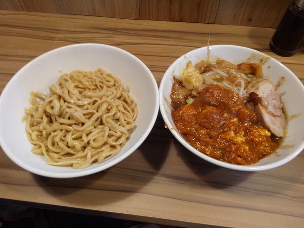 「つけ麺フュージョン」@火の豚 南越谷駅前店の写真
