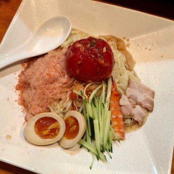 「トマトキムチ呉冷麺 (950円)」@木鶏製麺所の写真