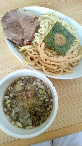 「淡麗鶏清湯つけめん(醤油)900円」@拉麺 しのざきの写真