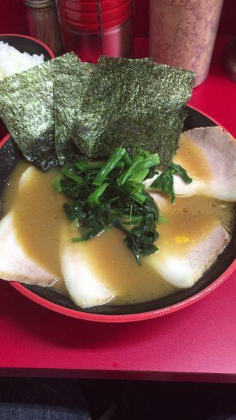 「塩チャーシュー麺」@横濱家系ラーメン 勝鬨家の写真