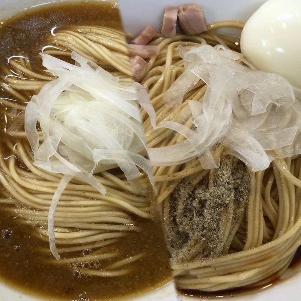 「かけソバ+和え玉+味玉」@煮干中華ソバ イチカワの写真