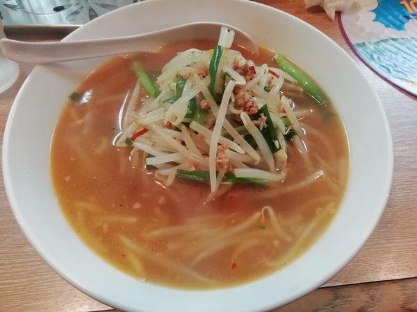 「台湾ラーメン(730円)」@麺飯厨房 青葉台の写真