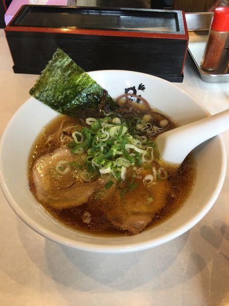 「醤油ラーメン大盛」@麺屋 ゆぶきの写真
