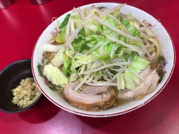 「ラーメン小 ねぎ生姜」@ラーメン二郎 札幌店の写真