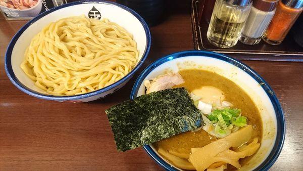 「インドのつけ麺(中)+メンマ・味玉(クーポン)」@つけめん 玉の写真