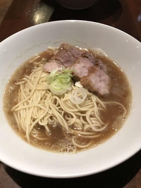 「肉そば」@自家製麺 伊藤 銀座店の写真