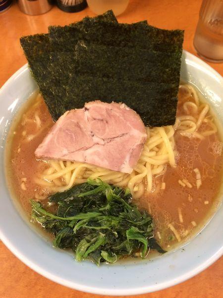 「家系中華蕎麦(中)750円」@家系中華蕎麦 家道の写真